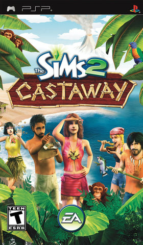 Sims 2: Castaway, The (Sony PlayStation Portable, 2007)