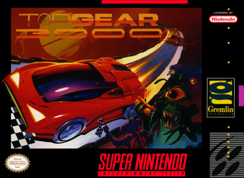 Top Gear 3000 (Nintendo SNES, 1995)