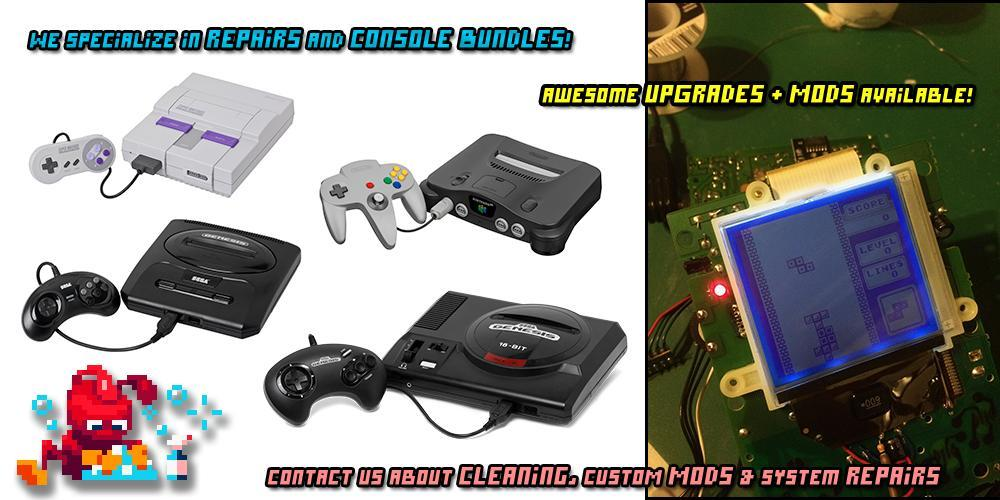 See our flat rate prices for retro game console & other hardware repair...
