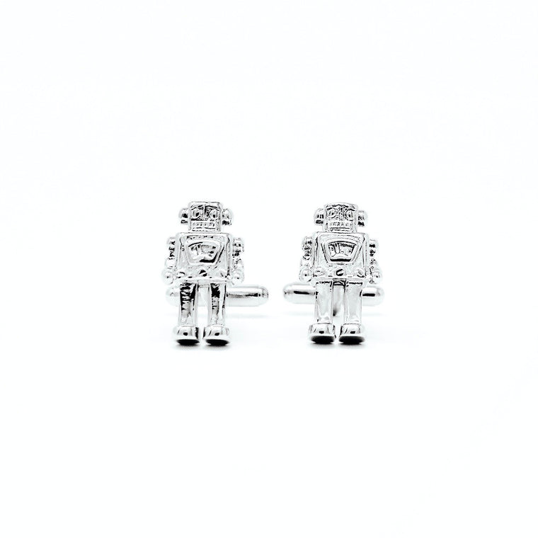 Most Unique Cufflinks - Robot Cufflinks - ELBOTIK.com