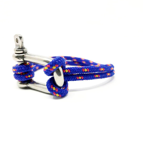 Shackle Bracelet Blue