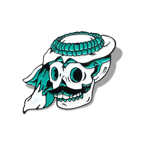 Skull From The Gulf Pin