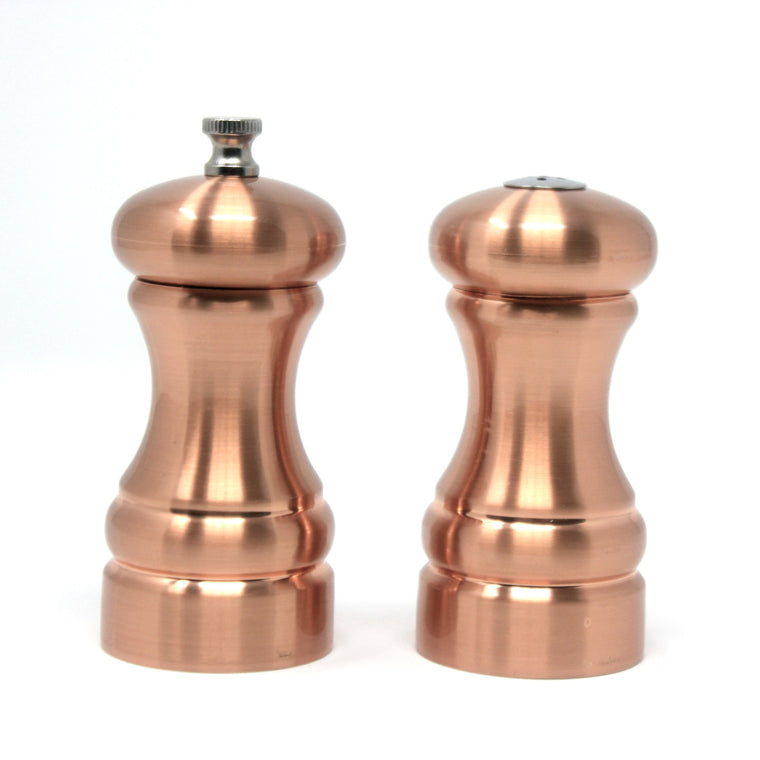 Copper Pepper Mill & Salt Shaker Set