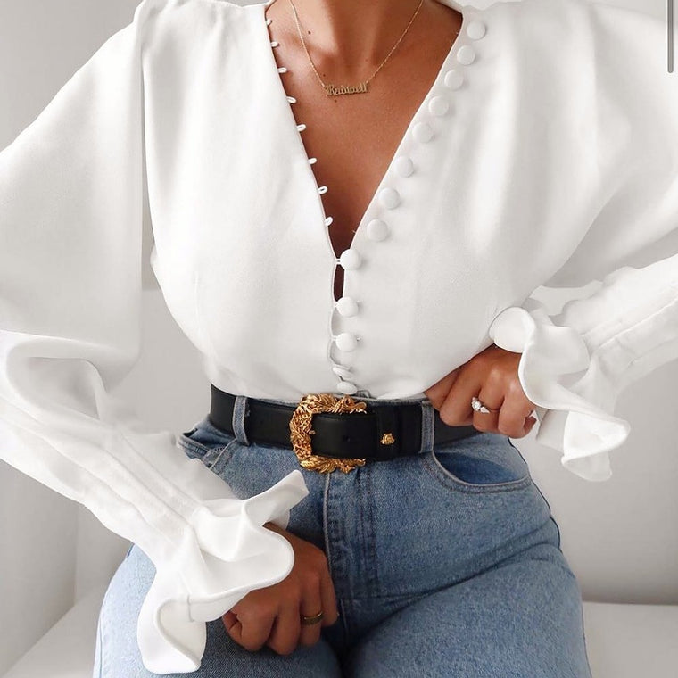 Miriam Statement long sleeve Shirt