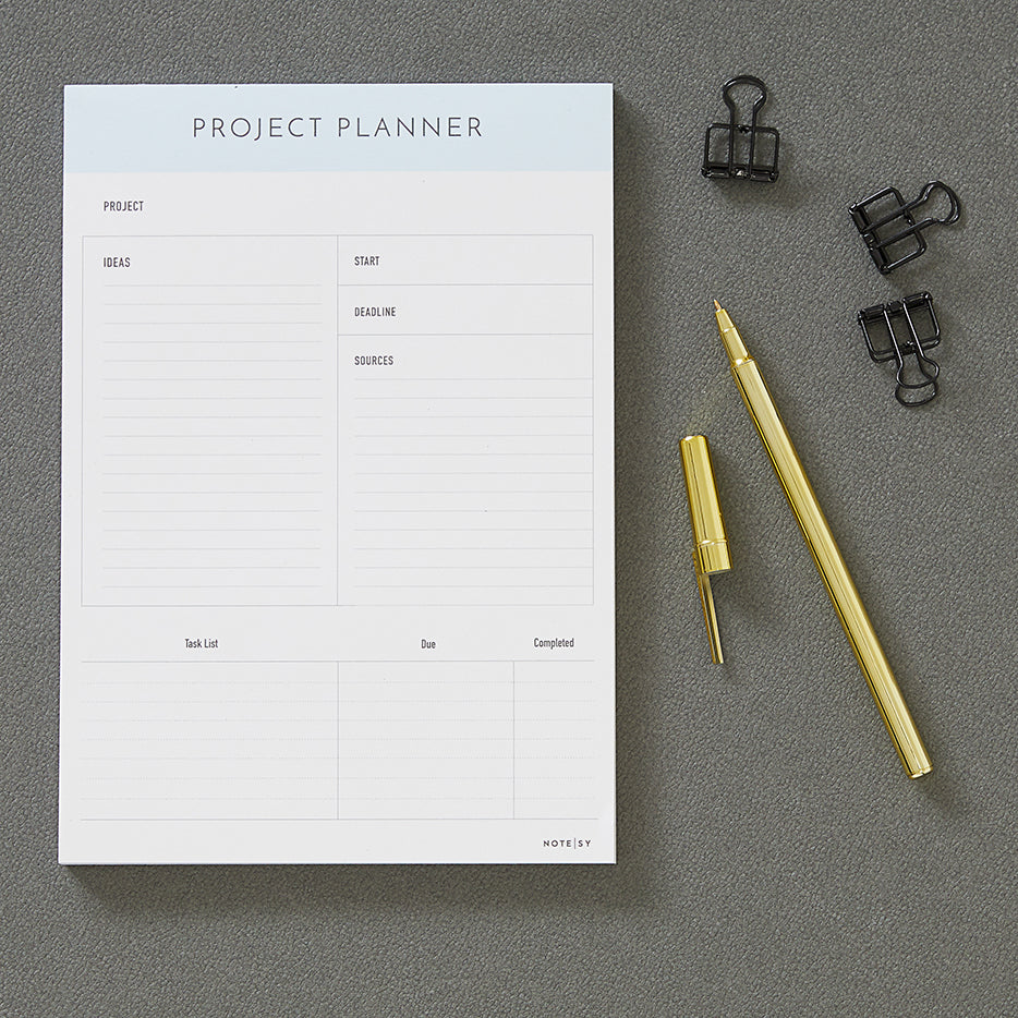 Project Planner Notepads