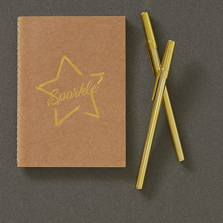 Sparkle Notebook A6