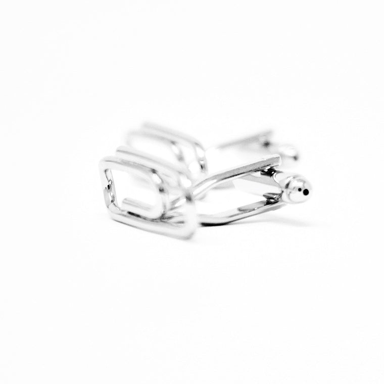 Most Unique Cufflinks - Paper Clip Cufflinks  - ELBOTIK.com