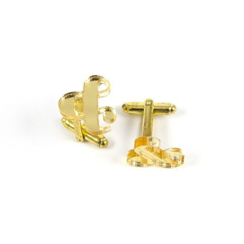 Most Unique Cufflinks - Ampersand Cufflinks - ELBOTIK.com