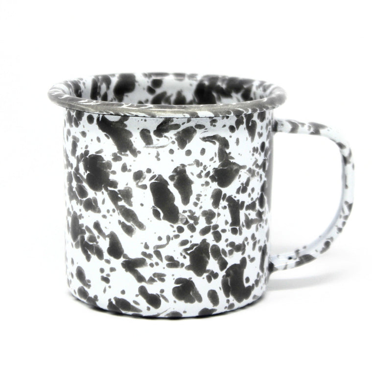 Grey Splatter Mug - 8oz