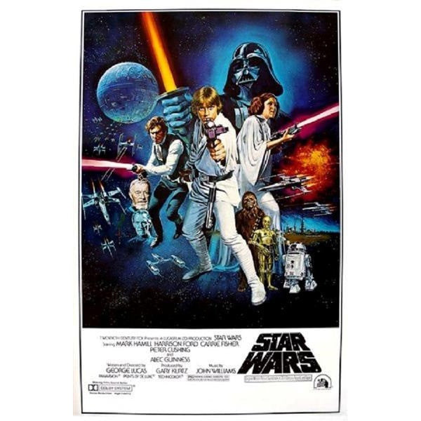 Star Wars: A New Hope Movie Poster Print