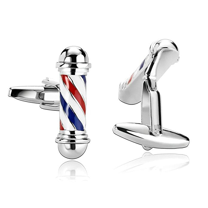 Barber Sign Cufflinks