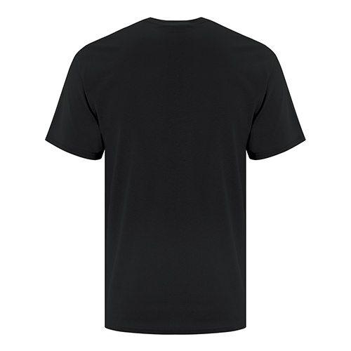 Mixed Accent Black Shirt