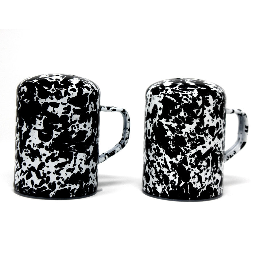 Marbled Salt & Pepper Shakers