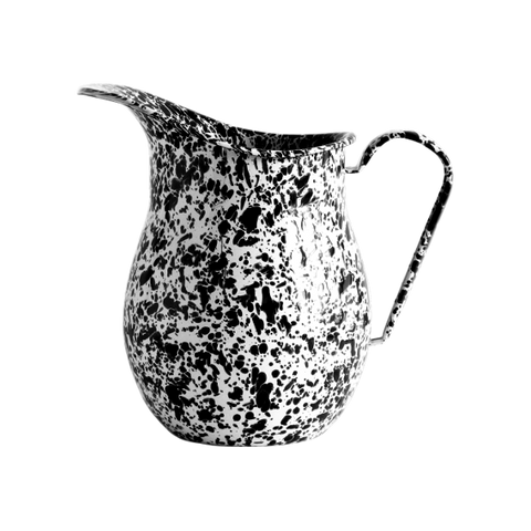 Marbled Enamel Pitcher - 3qt