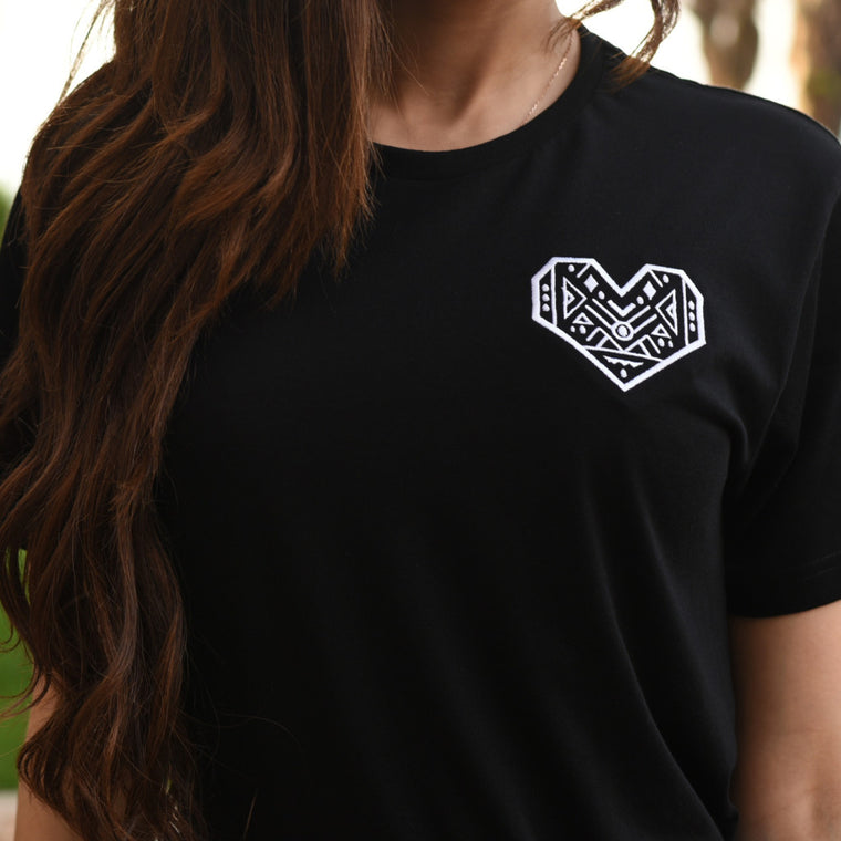 Heart Geometric t-shirt