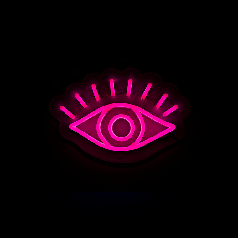 Blue Eye Neon Sign