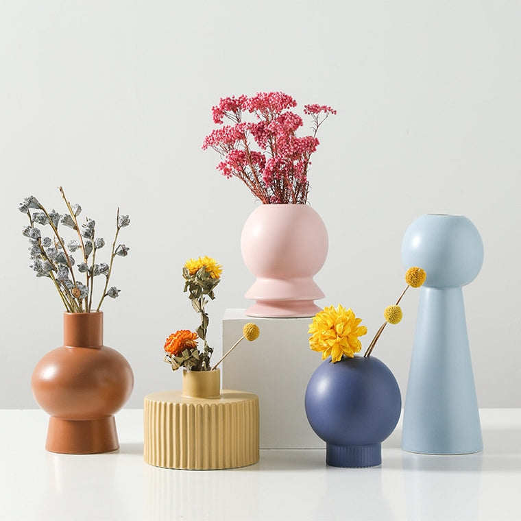 Lotto Ceramic Vase