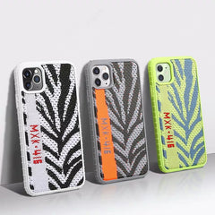 Yeezy threaded Pattern silicon cover case