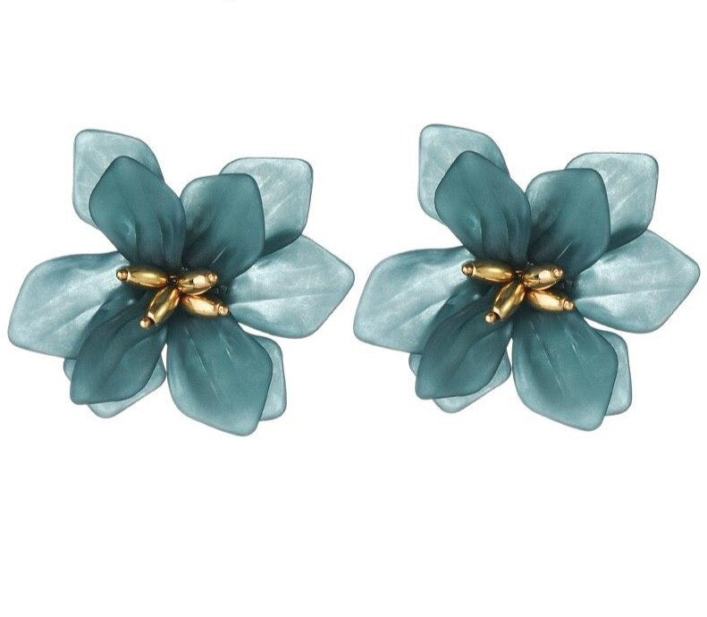Hyperbole Flower Earrings Women