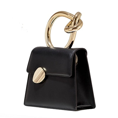 The Twist leather bag