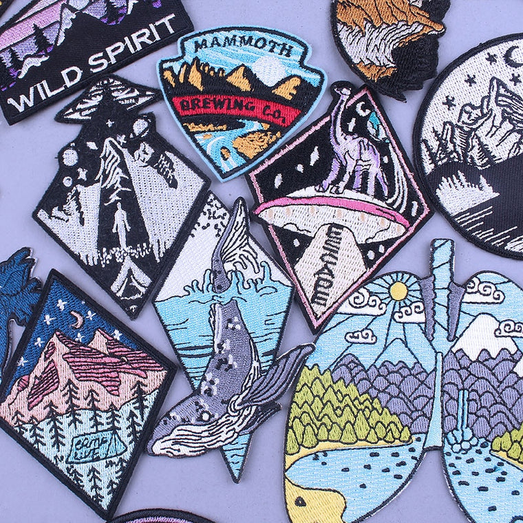 Take A Trip On The Ship Embroidered Patches