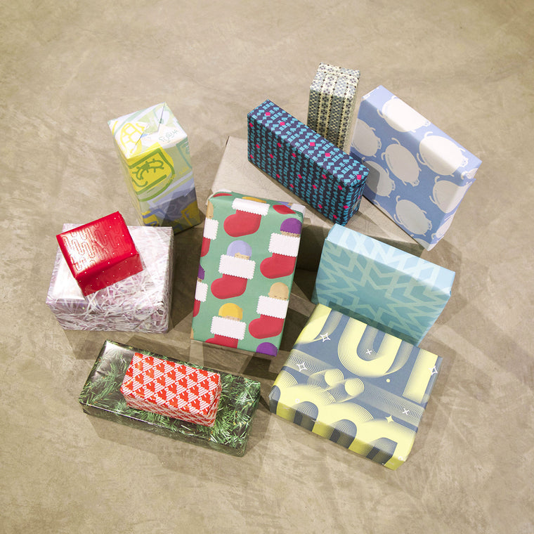 24 x Gift Wraps Celebrating Holiday Time