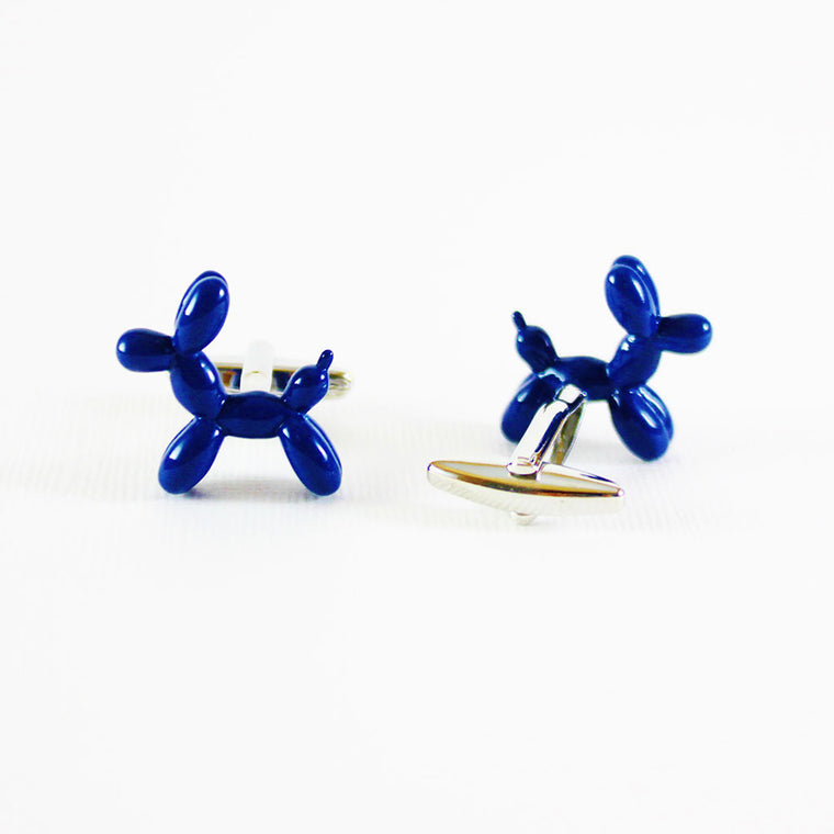 Blue Shaped Balloon Cufflinks