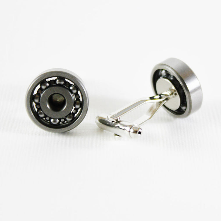 Most Unique Cufflinks - Ball Bearing cufflinks - ELBOTIK.com