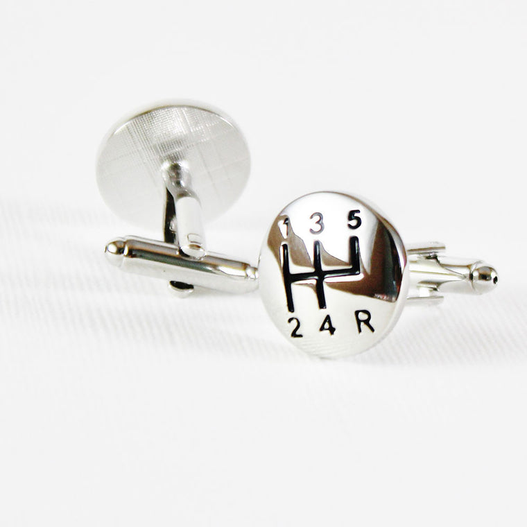 Car Stepper Cufflinks