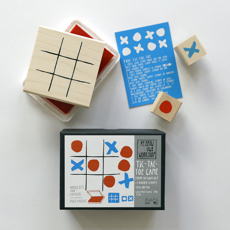 TIC TAC TOE STAMP ACTIVITY KIT