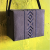 Bedouin Style Box Bag Dark Denim