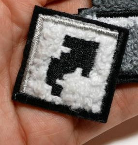 SHORTCUT CHENILLE PATCH