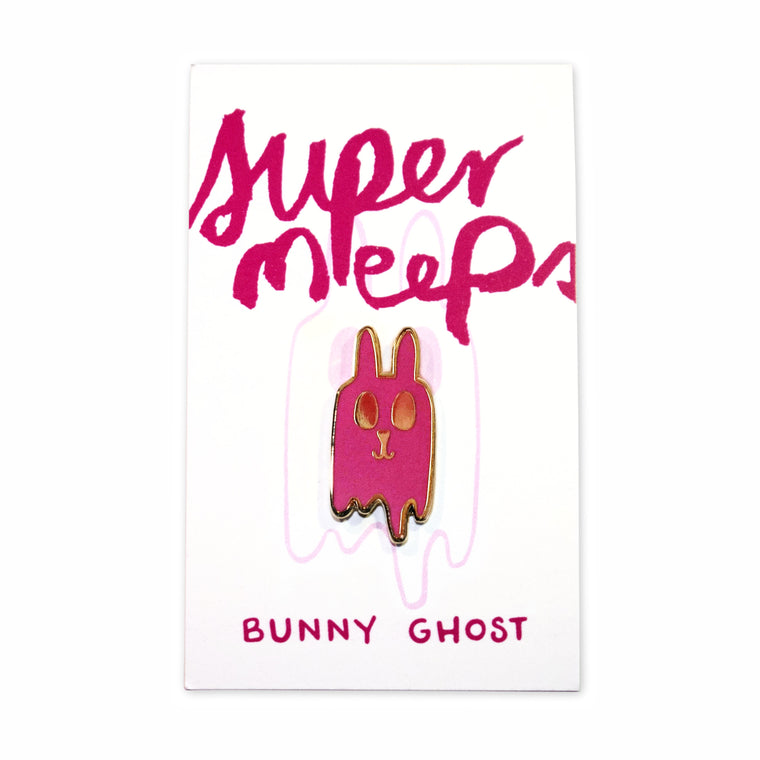 Bunny Ghost Pin