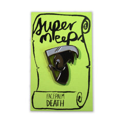 Face Palm Death Pin