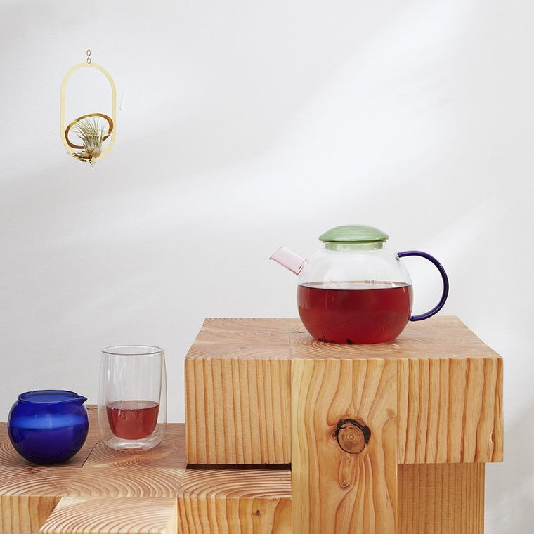 Bubble Teapot with Milk Jug & Sugar Bowl
