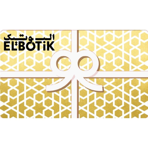 Elbotik Gold Gift Card
