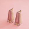 Hollywood Earrings (Pink and Lime)