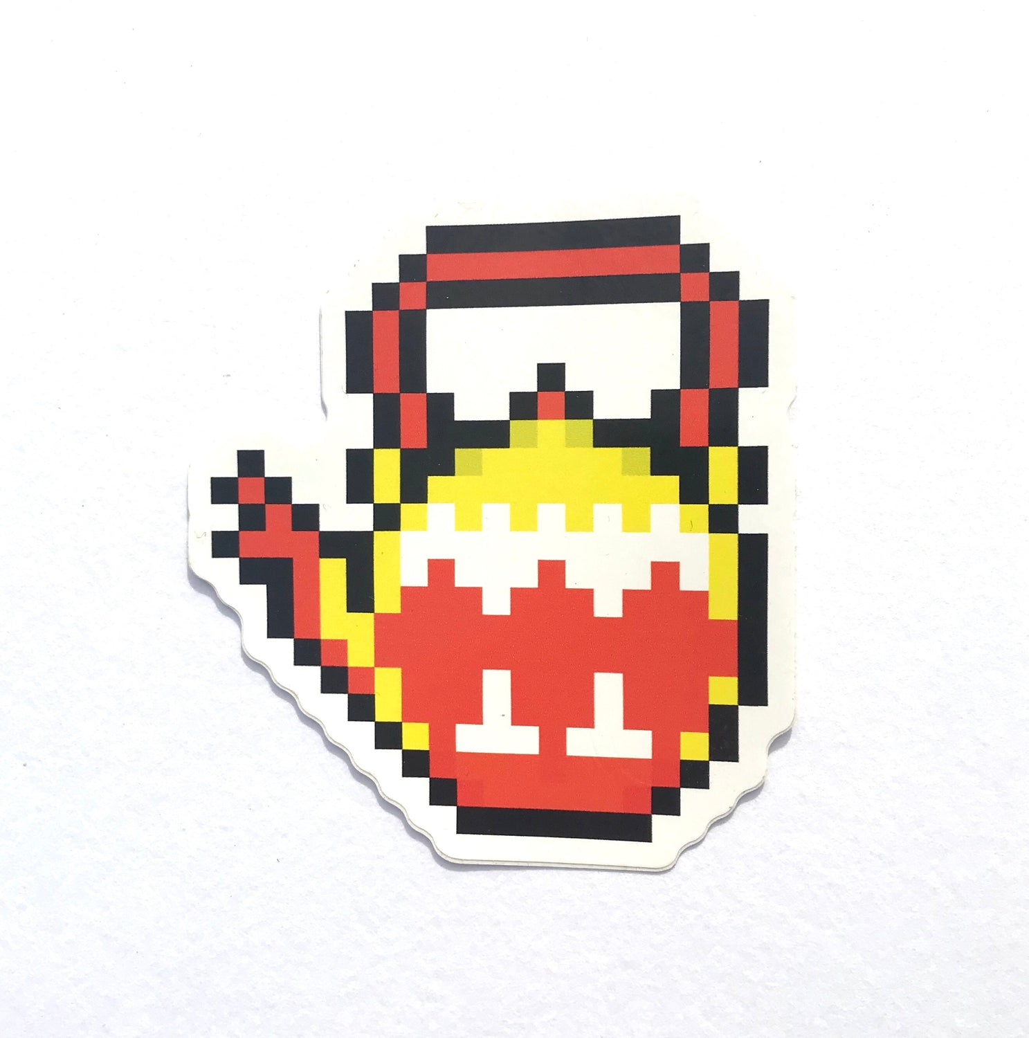 8bit Teapot Sticker