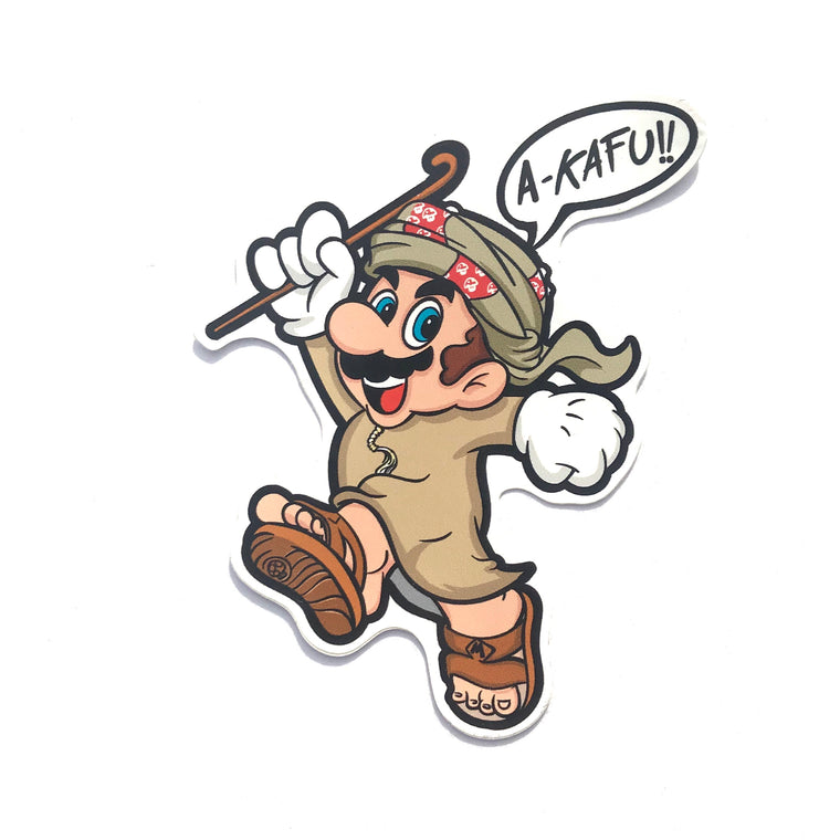 Kafu Mario Sticker