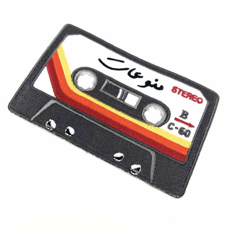 Arabic Mix Cassette Patch