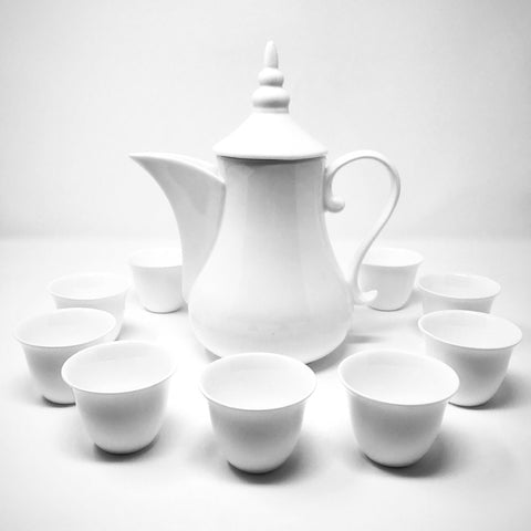 Ceramic Arabic Coffee Pot Set
