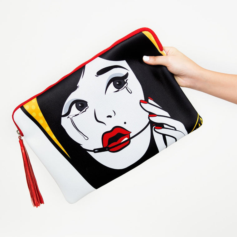 Cry Baby Clutch Bag