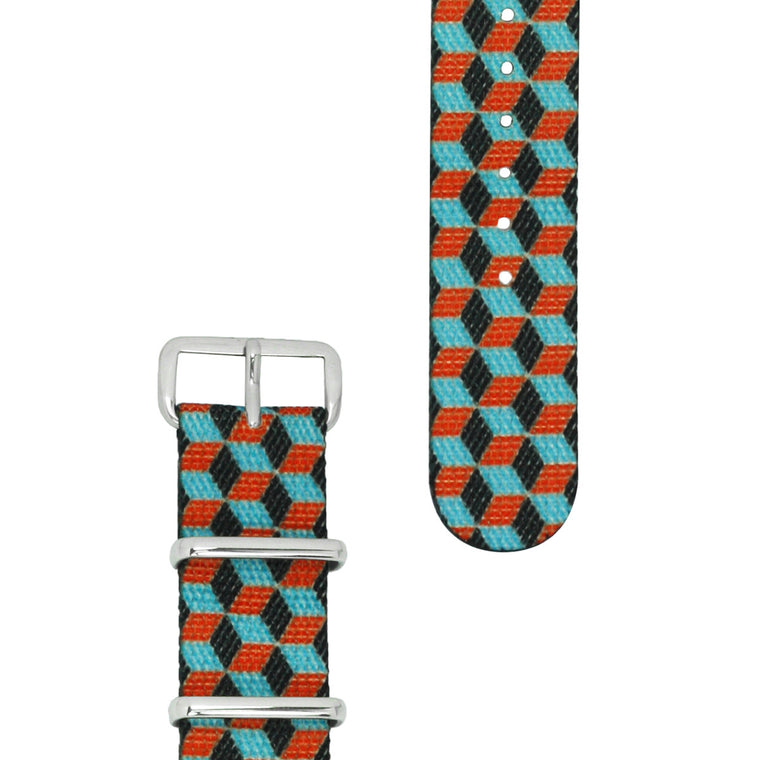 20 MM NATO STRAP - RUBICON