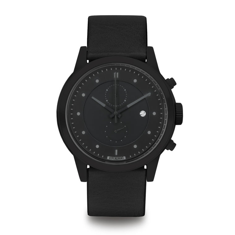 Maverick Chrono Blackout - Classic Black Watch