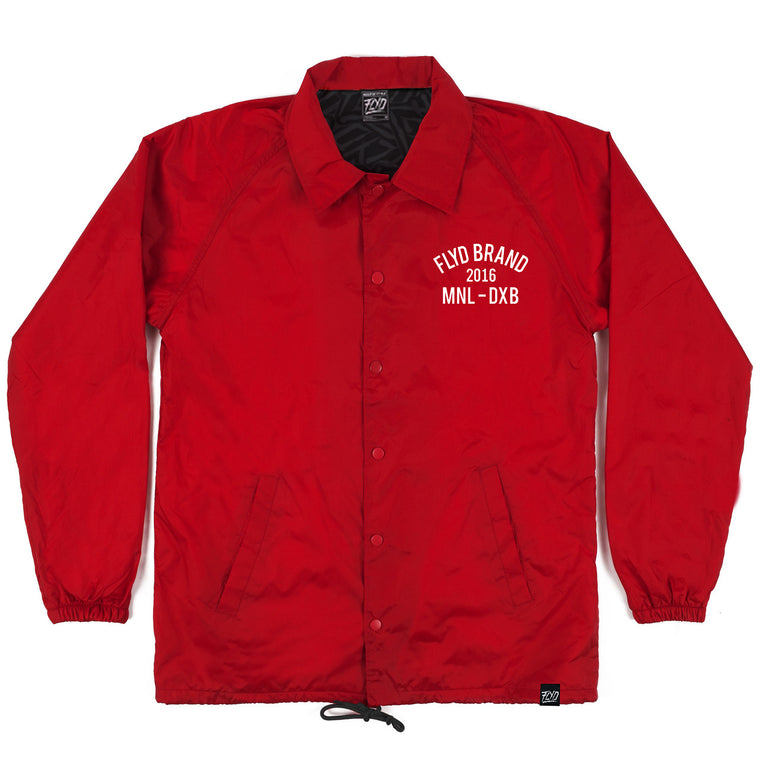 Crimson Lightweight Coach Jacket