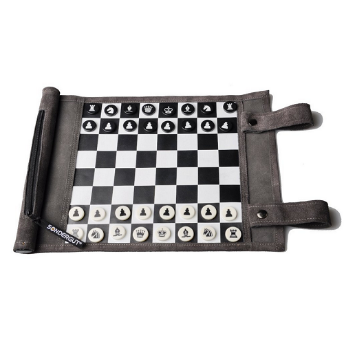 Chess Roll-Up Travel Set