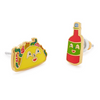 TACO & HOT SAUCE EARRINGS