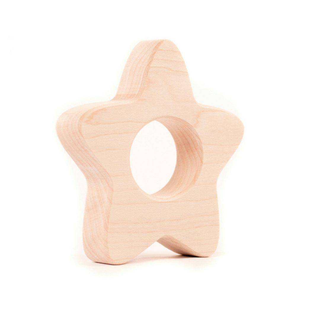 Wooden Teether - Star