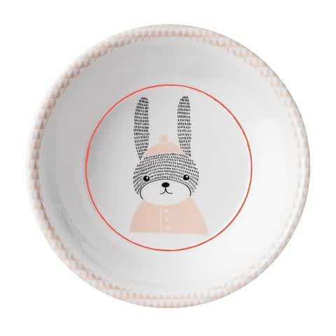 Bloomingville - The Sophia Rabbit - Soup Plate (White/Nude)