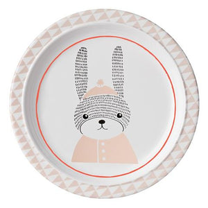 Bloomingville - The Sophia Rabbit - Plate (White/Nude)